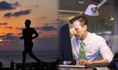 Träning kan motverka stress