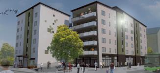 NCC och Uppsalahem bygger på Kapellgärdet