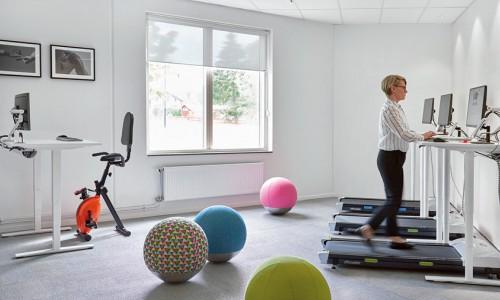 Ett kontor som stöttar det moderna arbetslivet