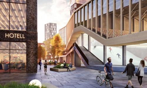 Serneke bygger ny stadsdel