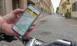 Nu kan Göteborgs cyklister se hinder direkt i mobilen
