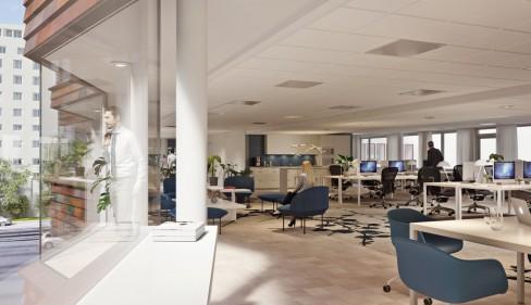 Wallenstam skapar unika kontor på Avenyn
