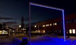 Nu tänds vinterbelysningen för ett tryggare och attraktivare Campus Luleå