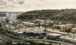 Moderna kontor i Krokslätts Fabriker
