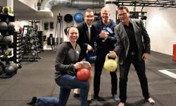 Idrottsstjärnor öppnar gym i Sigtuna stadsängar