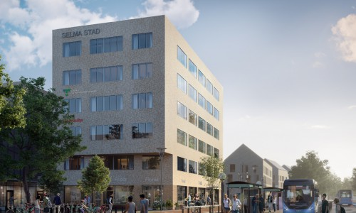Moderna kontor i Selma Stad