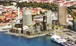Miljötillstånd för halvön på Masthuggskajen i hamn