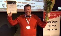 Johan Paulsson är Årets tekniska förvaltare 2019