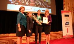 Cecilia Vestin är Årets Unga Fastighetskvinna 2015