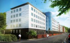 Stora moderna kontorsytor i Gårda